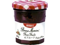 ボンヌママン 4フルーツジャム 瓶225g