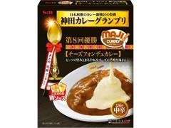 S&B 神田カレーグランプリ MAJIカレー チーズフォンデュカレー お店の中辛 箱185g