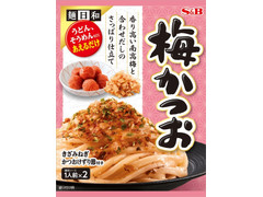 S&B 麺日和 梅かつお