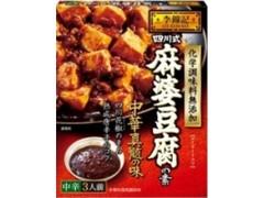 李錦記 四川式麻婆豆腐の素 中辛 化学調味料無添加