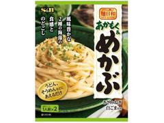 S&B 麺日和 あかもく&めかぶ