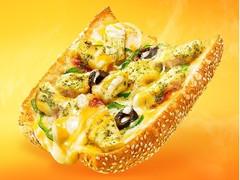 サブウェイ ピザ バジルトマトチキン