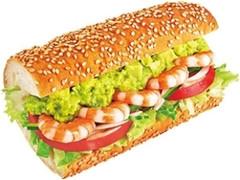 サブウェイ サンドイッチ えびアボカド