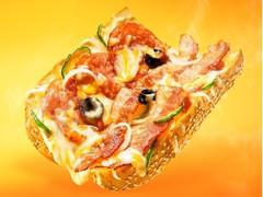サブウェイ サンドイッチ ピザ ベーコンイタリアーナ