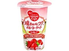 日本ルナ ときめきカフェ 味わいとコクのむヨーグルト いちご カップ170g