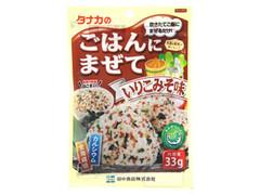 田中食品 ごはんにまぜて いりこみそ味 袋33g