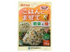 タナカ ごはんにまぜて 若菜と鮭 袋36g