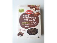 神戸物産 チョコとヘーゼルナッツのグラノーラ 箱375g