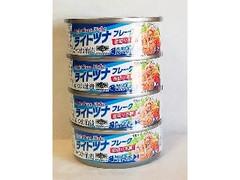 神戸物産 ライトツナフレーク かつお油漬 缶80g×4
