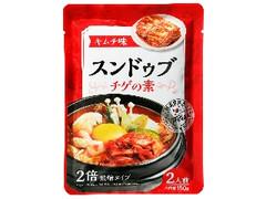 神戸物産 スンドゥブ チゲの素 キムチ味 袋150g