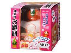 越後製菓 お鏡餅 楽楽ふっくらカット 国内産水稲もち米100% 箱3個