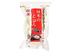 越後製菓 日本のごはん 袋120g×4