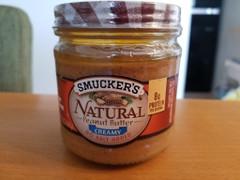 アメリカ産 スマッカーズ ピーナッツバタークリーミー