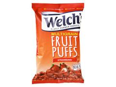 Welch's フルーツパフ ストロベリー 袋170g