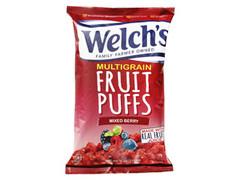 Welch's フルーツパフ ミックスベリー 袋170g