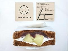 sandwich&co 塩あんこと焼き芋のおやつサンド