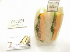 BLOSSOM&BOUQUET 厚焼きたまごのベーコン添えサンドイッチ