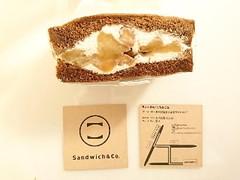 Sandwich&Co. ハニーナッツとりんごのキャラメリゼサンド