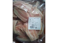 北海道チクレンミート スペイン産 豚肉ばら焼肉用 袋320g