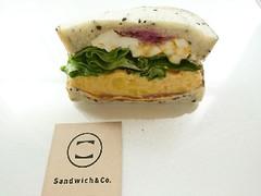 sandwich&Co. インカのめざめの明太ポテサラと生ハムサンド
