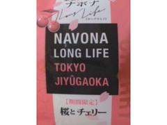 亀屋万年堂 ナボナ ロングライフ 桜とチェリー 1個