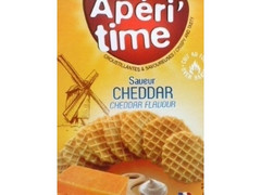 aperitime チェダーチーズ ワッフルクラッカー Original French gourmet wafer crackers