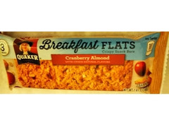 クエーカー Breakfast Flats Cranberry Almond 袋3枚