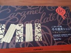 柳月 三方六の小割 冬の濃厚ショコラ キャラメリッチ 五本