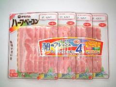 伊藤ハム 朝のフレッシュ ハーフベーコン パック36g×4