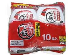 テーブルマーク たきたてご飯 国産米使用 180g×10食入