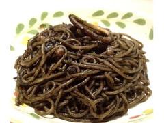 サイゼリヤ イカの墨入りスパゲッティ