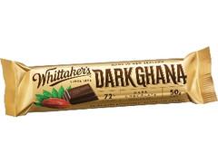 ウィッタカー ダークガーナ チョコレートバー 袋50g