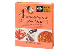 日比谷松本桜 松本樓の厳選美食 4種類の魚介が入ったシーフードカレー 箱180g