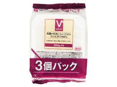 Vセレクト バローのおいしいごはん コシヒカリ100% 袋200g×3