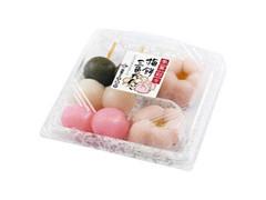万寿や 季菓彩々 梅餅三色だんご しろあん パック4個