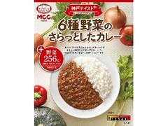 MCC 神戸テイスト+ 6種野菜のさらっとしたカレー 180g