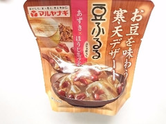 マルヤナギ 豆ふるる あずきほうじ茶ラテ 袋110g