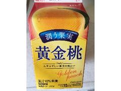 エルビー 潤う果実 黄金桃 パック500ml