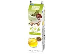 エルビー 香りごこち 玄米茶 パック1000ml