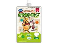 共立食品 ディズニー くまのプーさん かき氷シロップ メロン 袋100g