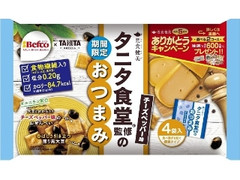 Befco タニタ食堂監修のおつまみ チーズペッパー味 袋21g×4