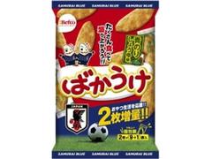 Befco ばかうけ 青のり サッカー日本代表パッケージ 袋2枚×10