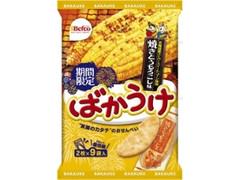 Befco ばかうけ 焼きとうもろこし味 袋2枚×9