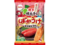 Befco ばかうけ 辛子明太子味 袋2枚×9