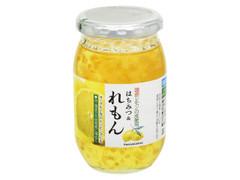 サクラ印 国産レモンの皮使用 はちみつ&れもん 瓶420g