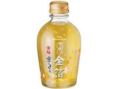 黄桜 京のとくり 純米金箔 瓶180ml