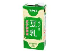 みどり みどり豆乳 成分無調整 パック1000ml