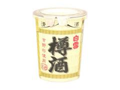 小西酒造 白雪 樽酒 カップ180ml