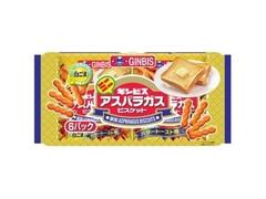 ギンビス ミニアスパラガス バタートースト味 袋27g×6
