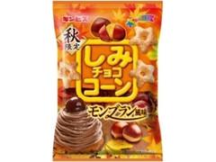ギンビス しみチョココーン モンブラン風味 袋55g